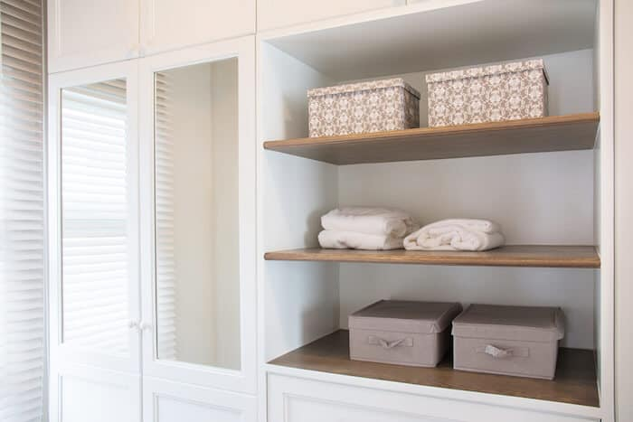 Size of Closet Space