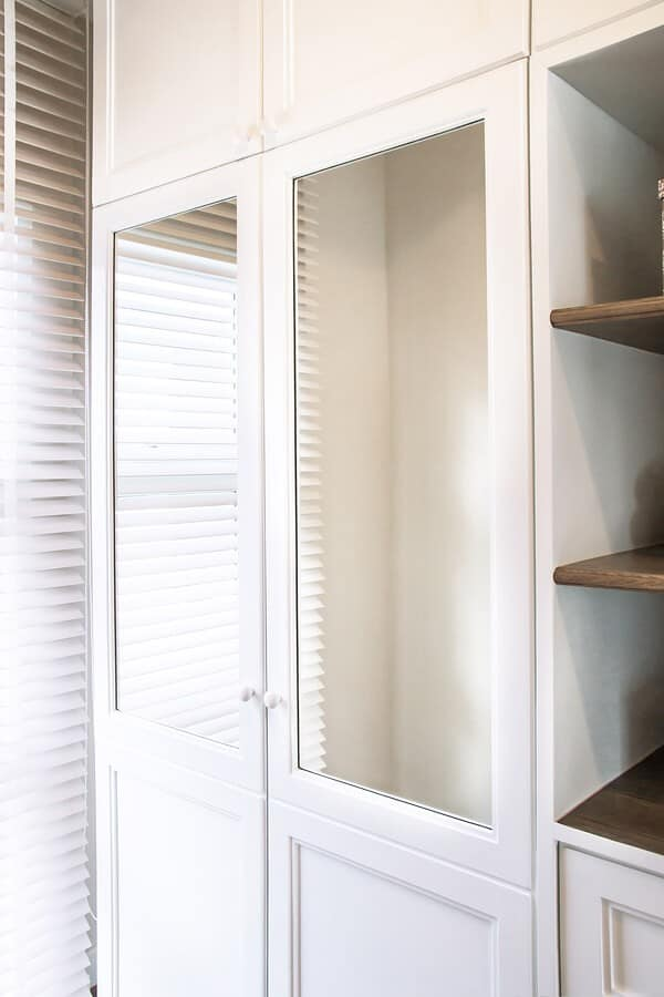 closet materials and finishes