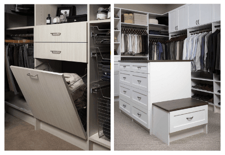 how to design drawers for your closet