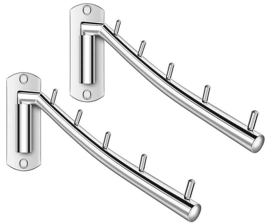 folding hooks for closets